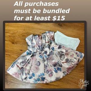 NWOT Children's Place Jacquard print dress 3-6 mo